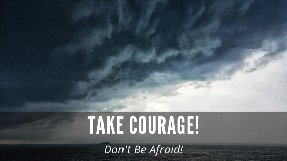 Take Courage! Don't be Afraid - Maryann Ward